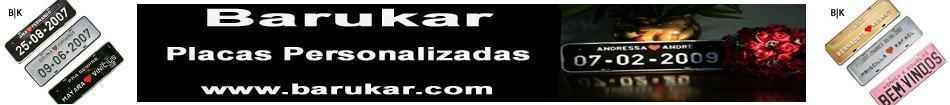 """Placas e Chaveiros de Carro Personalizadas """"Decorativas"""""""