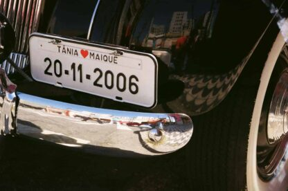 Placas de Carro Personalizadas (Placa da NOIVA) - ID: 1098 | Barukar