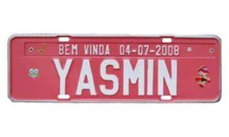 Placas Personalizadas para Aniversários e Nascimentos - Yasmin